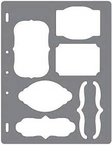 Shape Templates For Scrapbooking by Fiskars Shape Templates Scrapbooking Supplies
