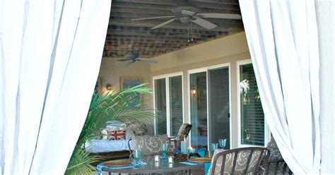 how to keep outdoor curtains from blowing inexpensive outdoor curtains using curtain rods out of
