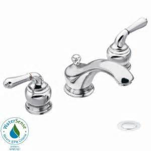moen bathroom faucets monticello moen monticello 8 in widespread 2 handle low arc bathroom
