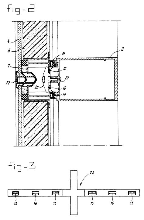 structural curtain wall patent ep0221605b2 curtain wall in particular with