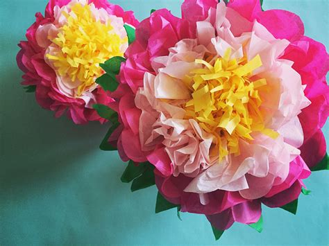Flowers With Tissue Papers - how to make a tissue paper flower a dazzling tutorial