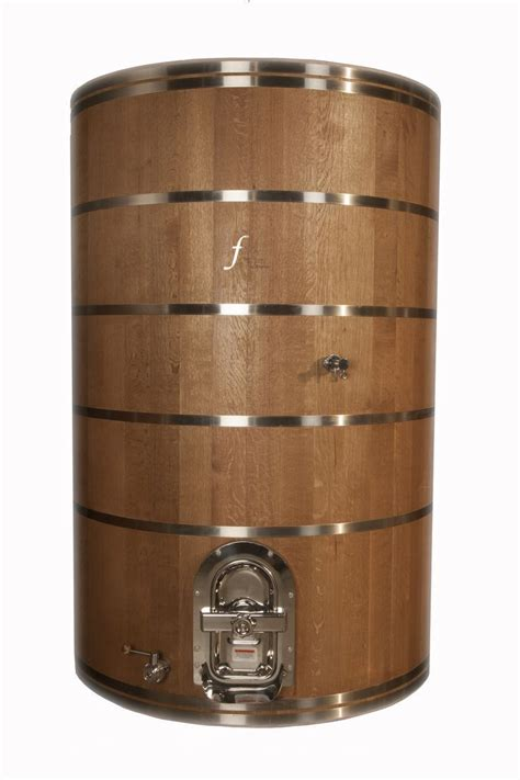 stainless steel brewing foeder american white oak and stainless steel home