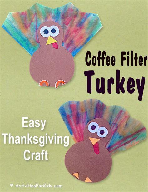easy kid thanksgiving crafts mini turkey craft preschool thanksgiving craft