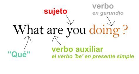 preguntas mas comunes en ingles con pronunciacion 191 qu 233 est 225 s haciendo