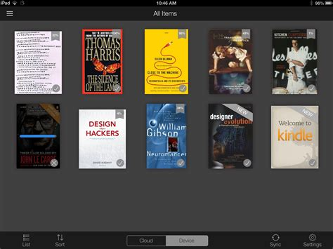 amazon kindle app amazon updates kindle app for ios 7 adds new features