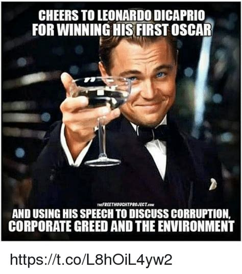 25 best memes about leonardo dicaprio and oscars
