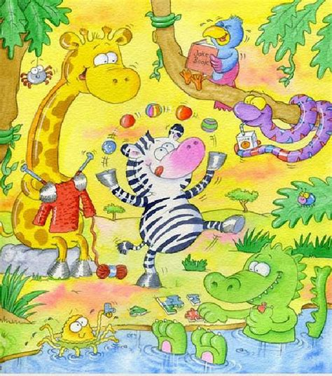 imagenes alegres infantiles zoo jungla selva animales imagenes para bajar