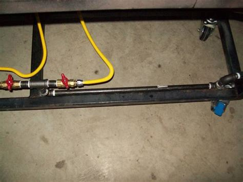 Plumbing Propane Gas Lines by Another Single Tier Brew Stand Build Home Brew Forums