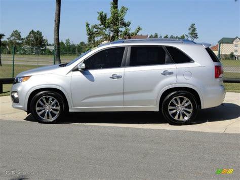 2011 Kia Sorento Sx V6 Bright Silver 2011 Kia Sorento Sx V6 Exterior Photo