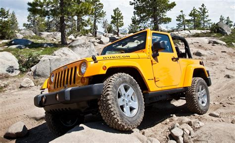 2012 Jeep Wrangler Rubicon Car And Driver