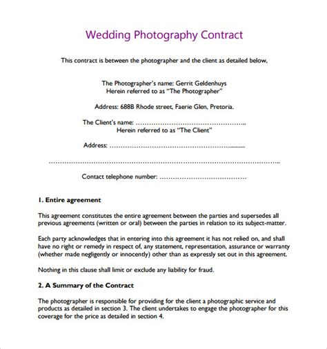 top result wedding photography contract best of 19 photography
