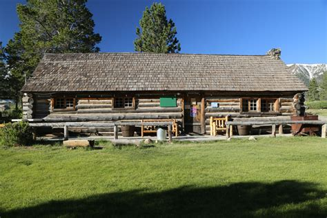 Hayden Cabin by Mammoth Ca Historical Attractions Dave S Travel Corner