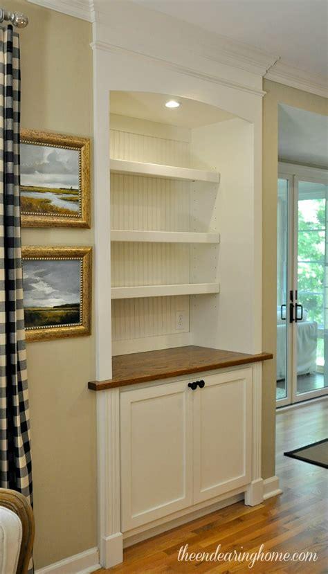 Built In Cabinet Doors Goodbye Door Hello Built In Cabinet Part 1