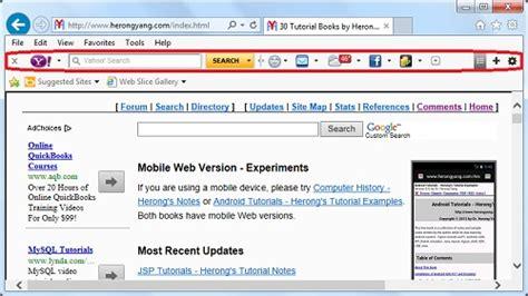 yahoo toolbar yahoo toolbar download the yahoo toolbar for search