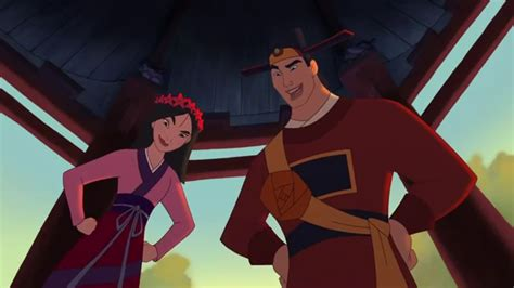 Image   Shang & mulan in wedding outfits.png   Disney Princess & Fairies Wiki   FANDOM powered