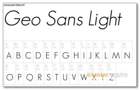 Geo Sans Light by 75 Excellent Free Fonts For Professional Design