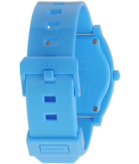 Nixon Time Teller Bright Blue nixon time teller p bright blue analog zumiez