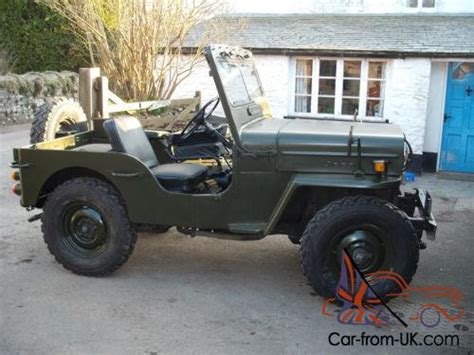 mitsubishi j54 j54 mitsubishi jeep cj3b military willys