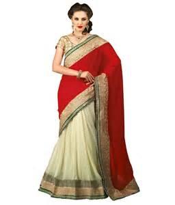 snapdeal sarees chirag sarees beautiful lehenga saree buy chirag sarees