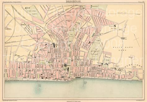 printable maps brighton 1000 images about maps brighton hove on pinterest