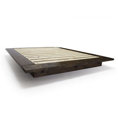 buy a handmade modern floating platform bed frame made to