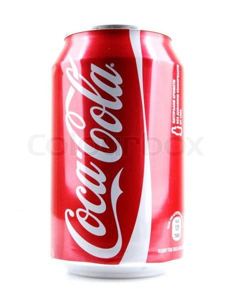 aytos bulgaria january 23 2014 coca cola bottle can