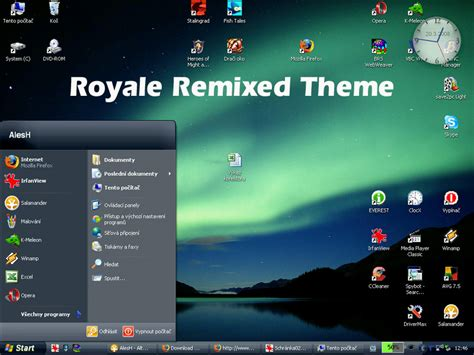 computer new themes for windows xp theme royale remixed for xp karan pc