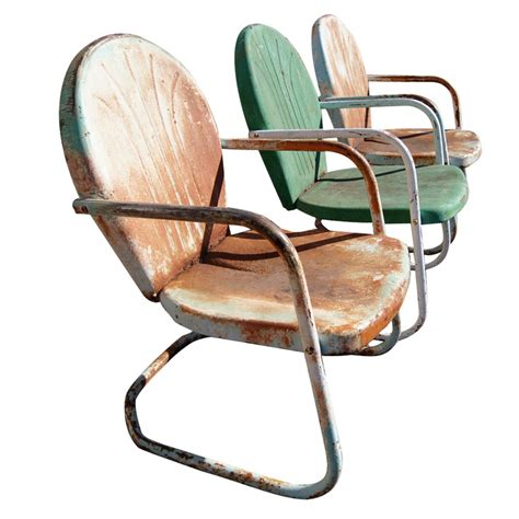 metal lawn chairs ebay 12 best images about metal patio chairs vintage on