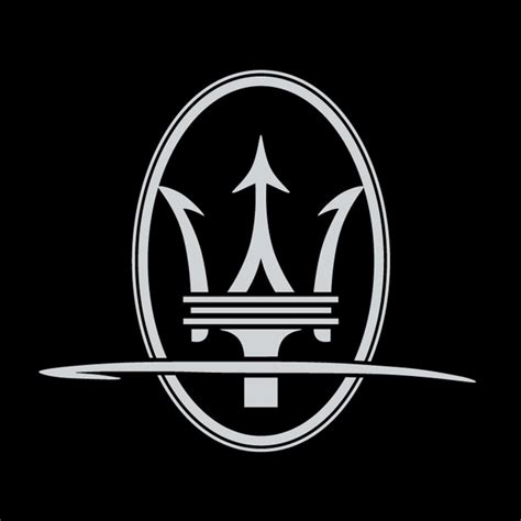 maserati logo drawing maserati tridente free vector in encapsulated postscript