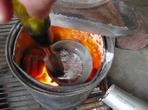 backyard aluminum foundry backyard metalcasting foundry youtube