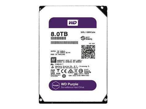 Harddisk Wdc Purple 8tb western digital wd80puzx sata 6gbps 8tb 5400rpm
