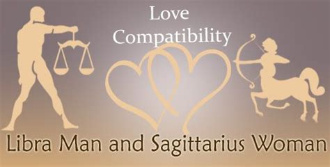 love match compatibility between libra man and sagittarius