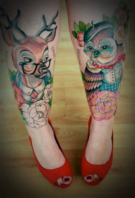 50 leg tattoo designs for women