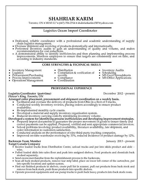 logistic resumes samples tgam cover letter regarding sample resume