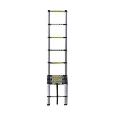 Tangga Alumunium Telescopic Ladder 38 M Dalton Ml 1004a jual tangga aluminium lipat serbaguna harga menarik