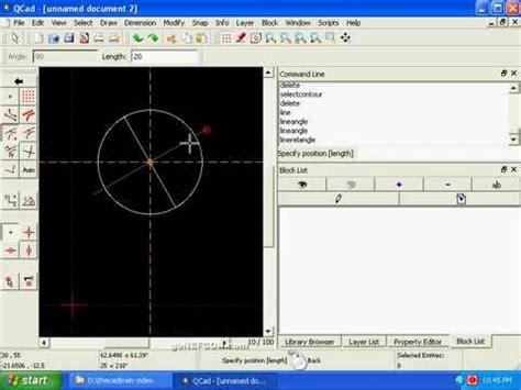 tutorial qcad youtube qcad 1 beginner s cad qcad tutorial youtube