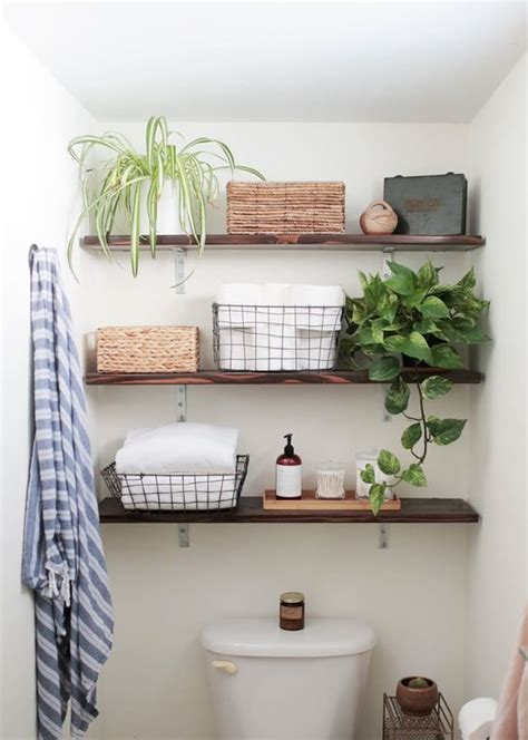 Wood Shelves Bathroom by 35 Floating Shelves Ideas For Different Rooms Digsdigs