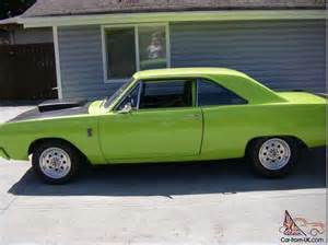 1967 dodge dart pro race car 383 stroker 550hp lime