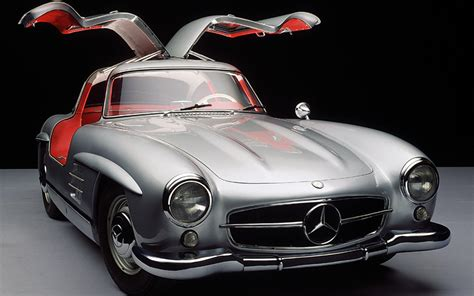 mercedes 300 sl gullwing doors open photo 7
