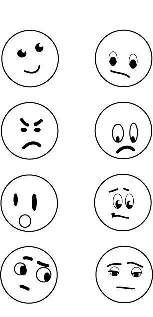 faces of emotion printable pictures emotions faces cliparts co