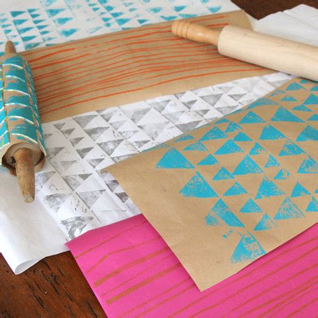 Make Your Own Gift Wrapping Paper - beautiful diy gift wrap wrapping paper for