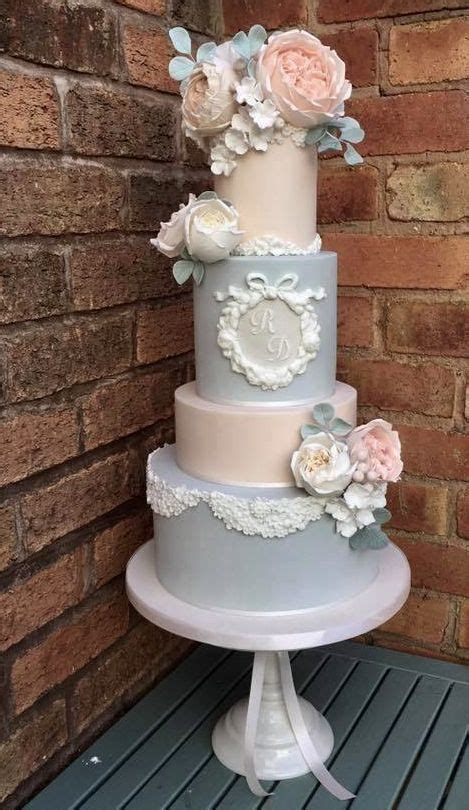 Vintage Wedding Cakes by Vintage Wedding Cakes A Touch Of And Glam
