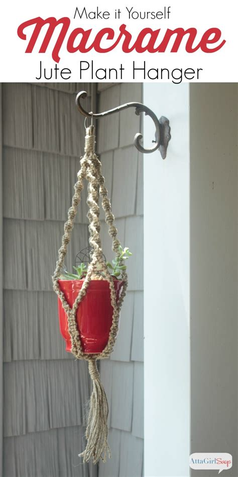Learn How To Macrame - learn how to macrame diy macrame plant hanger