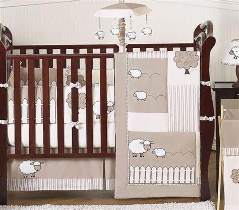 sheep crib bedding little lamb baby bedding 9pc crib set by sweet jojo
