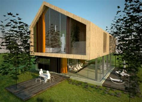 eco friendly single family residence by aka architetti eco