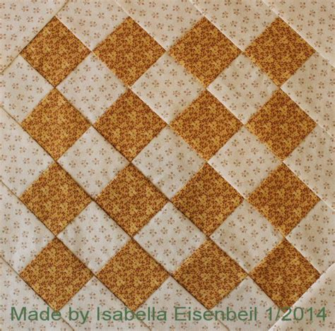 Crossroads Quilt Block by Crossroads Quilt Block 1 Aka Checkerboard Made