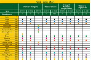crayola marker maker color chart