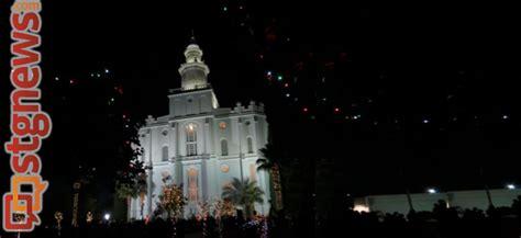 luxur lighting st george ut st george temple lighting videocast photo gallery st