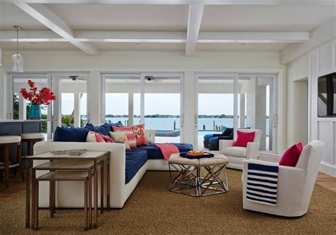 nautical family room jma interior design