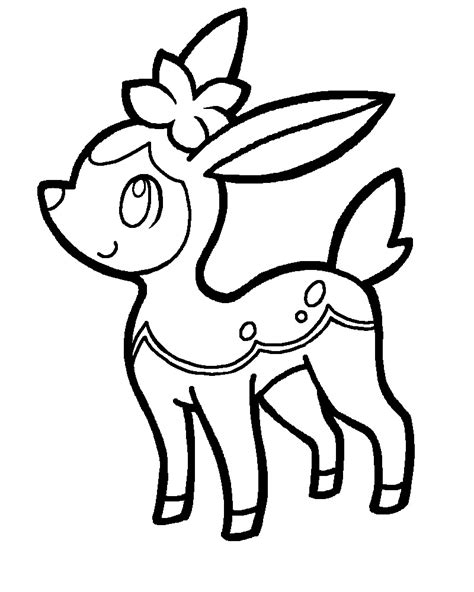 pokemon coloring pages deerling deerling pokemon coloring pages images pokemon images